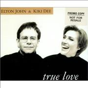 Click here for more info about 'Elton John - True Love - 4 Track'