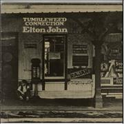 Elton John Tumbleweed Connection - Grey UK vinyl LP