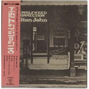 Elton John Tumbleweed Connection - Red + obi - EX Japan vinyl LP