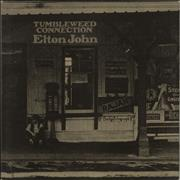 Elton John Tumbleweed Connection - Red UK vinyl LP