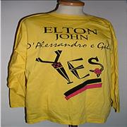 Click here for more info about 'Elton John - Versace - Yellow T-shirt'