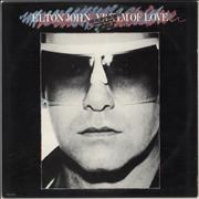 Click here for more info about 'Elton John - Victim Of Love - Gold promo'