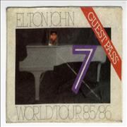 Click here for more info about 'Elton John - World Tour 85/86'