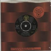 "Elton John Your Song - WOL UK 7"" vinyl"