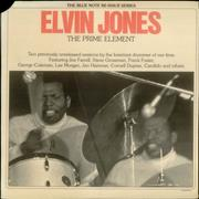 Click here for more info about 'Elvin Jones - The Prime Element - 'b' Label'