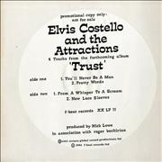 Click here for more info about 'Elvis Costello - 4 Tracks From The Forthcoming Album Trust'