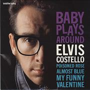 "Elvis Costello Baby Plays Around UK 10"" vinyl"