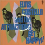 Elvis Costello Get Happy! - 180gm Vinyl UK 2-LP vinyl set