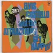 Click here for more info about 'Elvis Costello - Get Happy - Stickered Sleeve - EX'