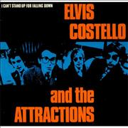 Click here for more info about 'Elvis Costello - I Can't Stand Up For Falling Down - P/S'