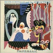 Click here for more info about 'Elvis Costello - Imperial Bedroom - Illustrated labels'