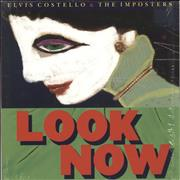 Elvis Costello Look Now + Shrinkwrap UK vinyl LP