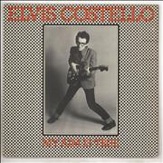 Click here for more info about 'Elvis Costello - My Aim Is True - Laminated - Yellow back - EX'