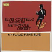 Click here for more info about 'Elvis Costello - My Flame Burns Blue: Live With The Metropole Orkest - Blue Vinyl'