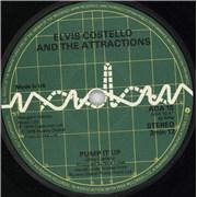 "Elvis Costello Pump It Up UK 7"" vinyl"