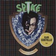 Click here for more info about 'Elvis Costello - Spike - Stickered Sleeve'