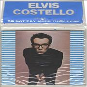 "Elvis Costello Stiff Singles Four Pack UK 7"" vinyl"