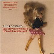 Click here for more info about 'Elvis Costello - Tear Off Your Head (Its A Doll Revolution)'
