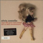 Click here for more info about 'Elvis Costello - Tear Off Your Own Head (It's A Doll Revolution) - Red Vinyl + Numbered'