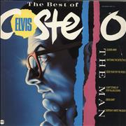 Elvis Costello The Best Of Elvis Costello - The Man UK vinyl LP