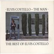 Elvis Costello The Man - The Best Of Elvis Costello UK vinyl LP