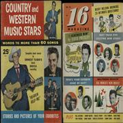 Click here for more info about 'Elvis Presley - 16 Magazine + Country & Western Music Stars'