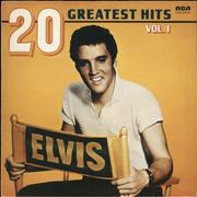 Elvis Presley 20 Greatest Hits Vol 1 Germany vinyl LP
