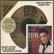 Elvis Presley 24 Karat Hits! + slipcase & Sealed USA CD album