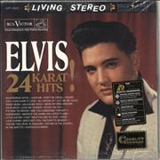 Elvis Presley 24 Karat Hits! - 180gram - Sealed USA 2-LP vinyl set
