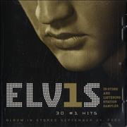 Click here for more info about 'Elvis Presley - 30 #1 Hits - In-Store and Listening Station Sampler'