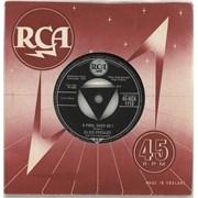 "Elvis Presley A Fool Such As I - 1st - VG UK 7"" vinyl"