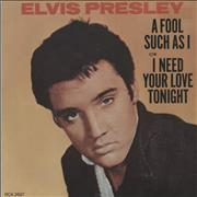 Click here for more info about 'Elvis Presley - A Fool Such As I'