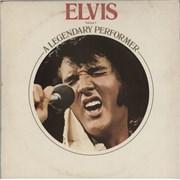 Elvis Presley A Legendary Performer Volume 1 + booklet - EX UK vinyl LP