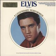 Elvis Presley A Legendary Performer Volume 3 - gold vinyl USA vinyl LP