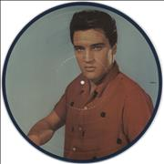 """Elvis Presley A Legendary Performer Volume 3 Canada 12"""" picture disc"""