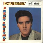 Click here for more info about 'Elvis Presley - A Merry Christmas EP - 10/58 - EX/EX-'
