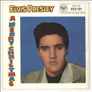 Click here for more info about 'Elvis Presley - A Merry Christmas EP - 10/58 - VG'