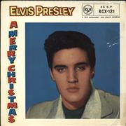 Click here for more info about 'Elvis Presley - A Merry Christmas EP - 12/58 - 4 Prong'