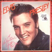 Elvis Presley A Valentine Gift For You - Red Vinyl UK vinyl LP