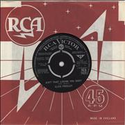 Click here for more info about 'Elvis Presley - Ain't That Loving You Baby - EX'