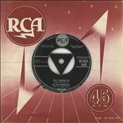 Click here for more info about 'Elvis Presley - All Shook Up - 1st - VG'