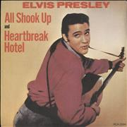 "Elvis Presley All Shook Up - Solid UK 7"" vinyl"