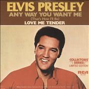 """Elvis Presley Any Way You Want Me (That's How I'll Be) USA 7"""" vinyl"""