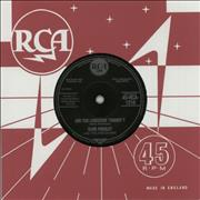 "Elvis Presley Are You Lonesome Tonight? - 2001 UK 7"" vinyl"