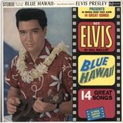 Elvis Presley Blue Hawaii - 1st Stereo UK vinyl LP