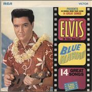 Click here for more info about 'Elvis Presley - Blue Hawaii - 1st - Matt'