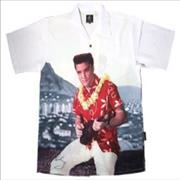 Click here for more info about 'Elvis Presley - Blue Hawaii - XL Club Shirt'