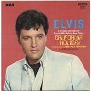 Elvis Presley California Holiday France vinyl LP