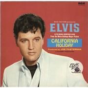 Elvis Presley California Holiday Germany vinyl LP