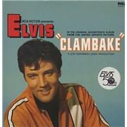Elvis Presley Clambake UK vinyl LP
